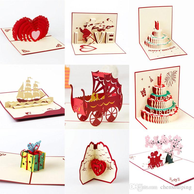 where to buy handmade d greeting cards for birthday online? where, Birthday card