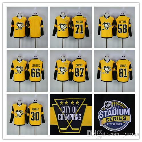 2017 Stadium Series Pittsburgh Penguins 87 Sidney Crosby 71 Malkin 58 Kris Letan