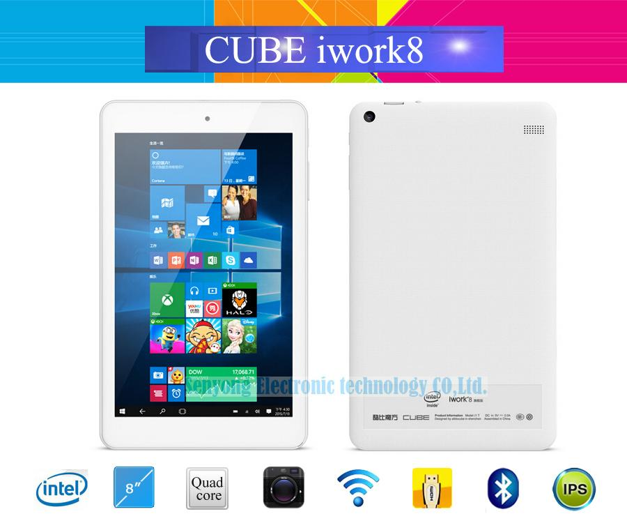 En gros- Original Cube iwork8 Ultimate double OS Windows 10 + Android 5.1 Tablet