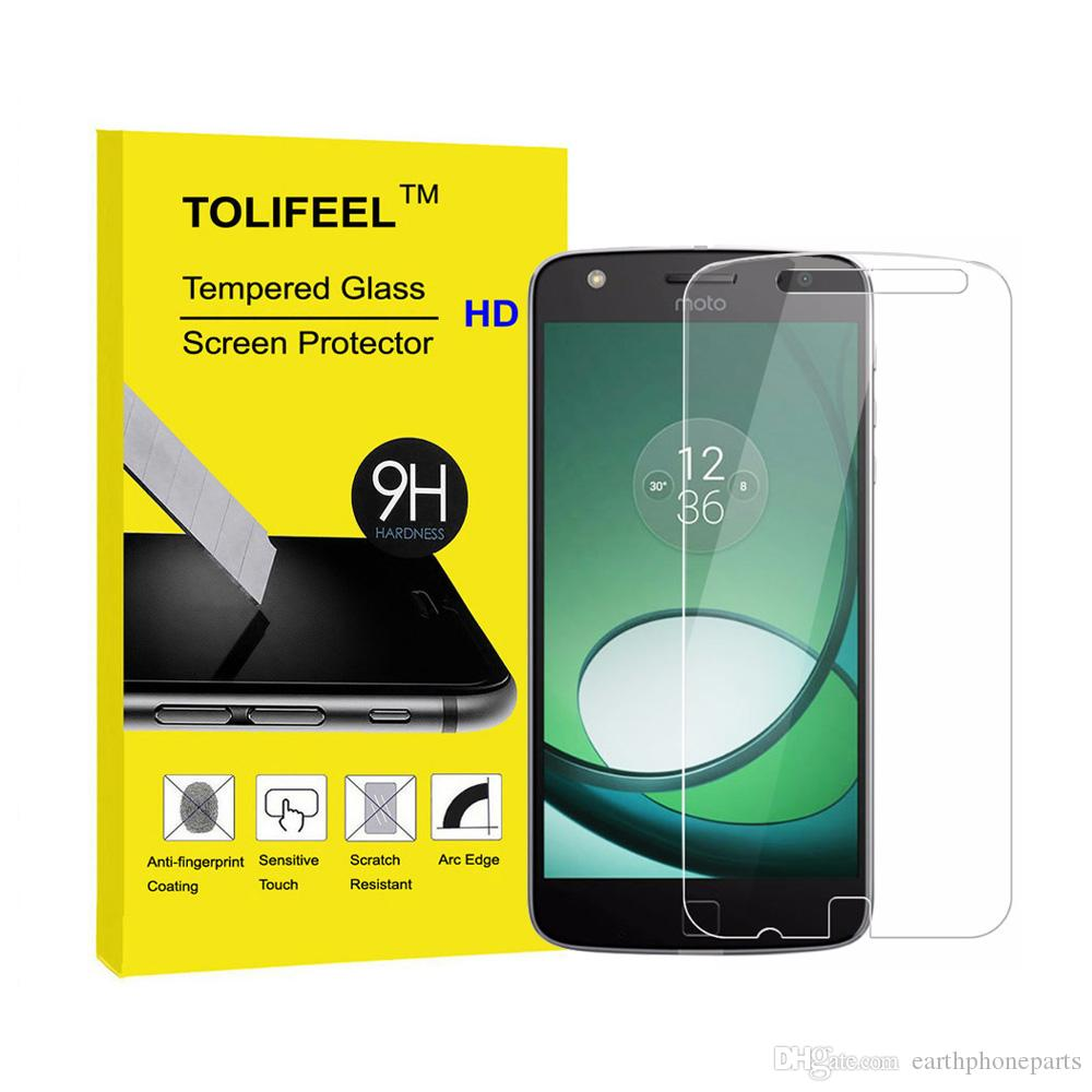 Popsky Clear Tempered Glass Premium 9h Film Screen Protector For Antigores Antiblue Ugo Polytron R2508 Rocket T5 Tolifeel