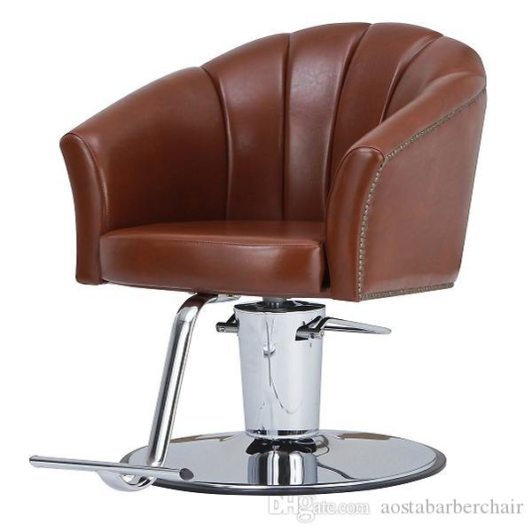 2017 Brown Styling Chair With Big Hydraulic PumpCheap Barber – Cheap Styling Chair