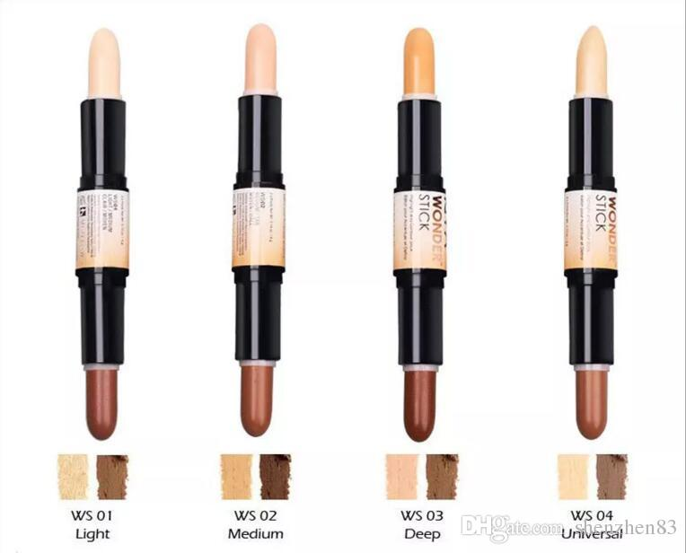 Nyx wonder stick concealer highlight contour stick foundation face makeup double ended contour - Nyx concealer wand medium ...