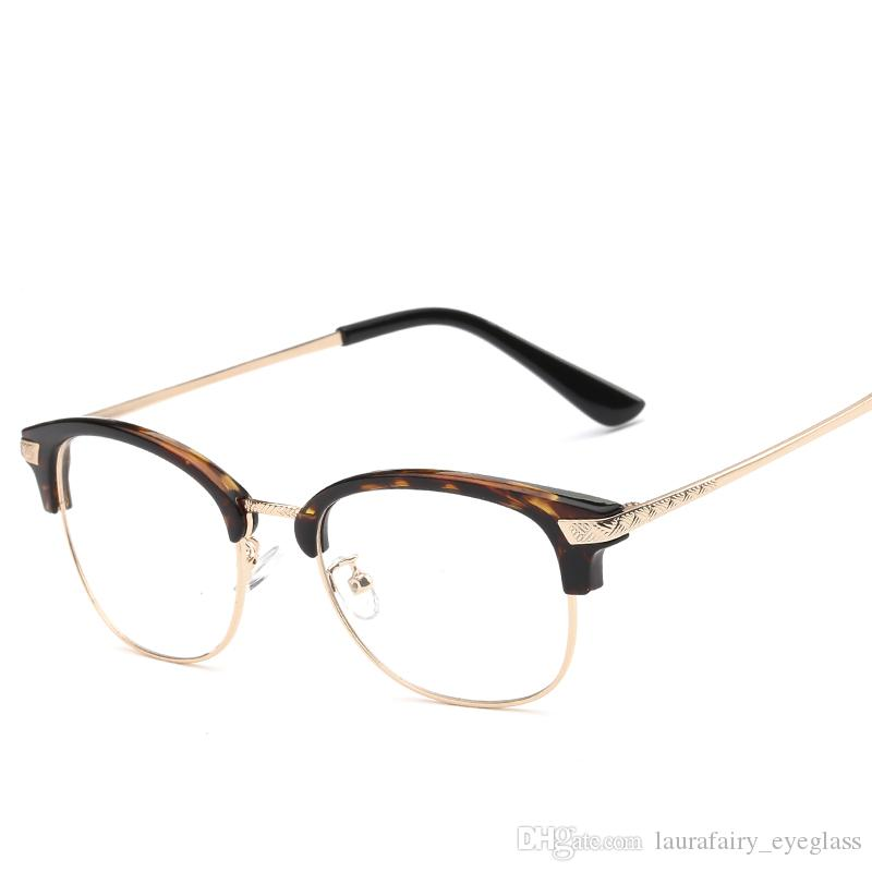 Glasses Frame Weight : Laurafairy Fashiontr90 Light Weight Eyeglass Round ...