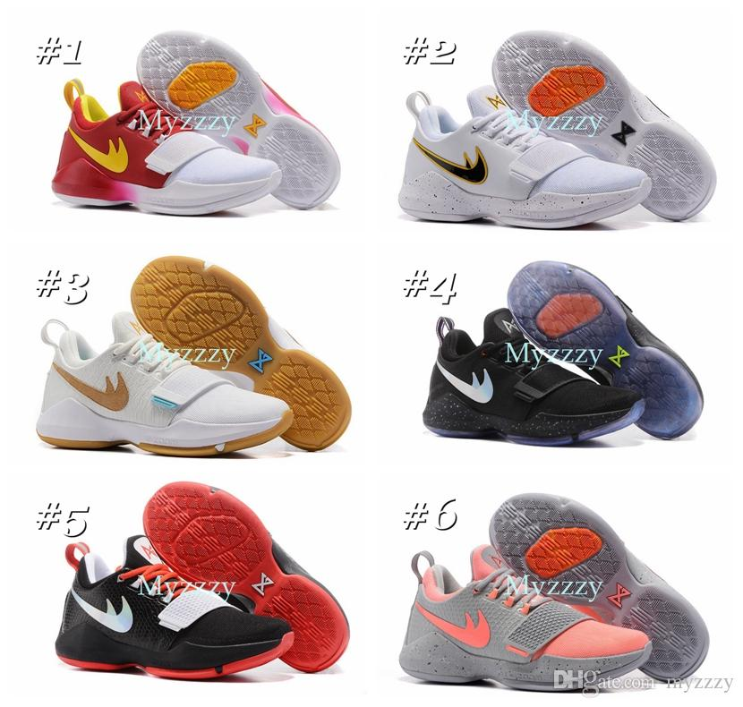 027cd61c5239 ... 2017 paul george pg 1 dream off hook zoom low mens basketball shoes  adult i glacier