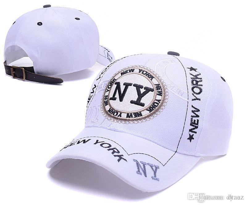 2017 The New York yankees cap Bonnets Unisex Fashion Cool Snapback Femmes Hommes
