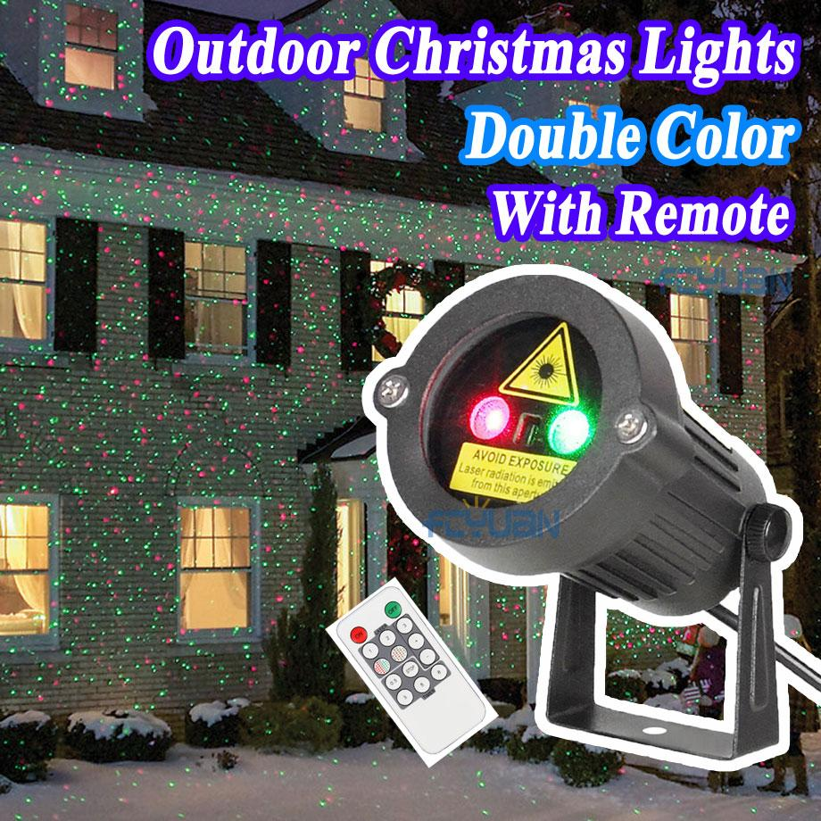 Outdoor Garden Decoration Waterproof IP44 Christmas Laser Light ...