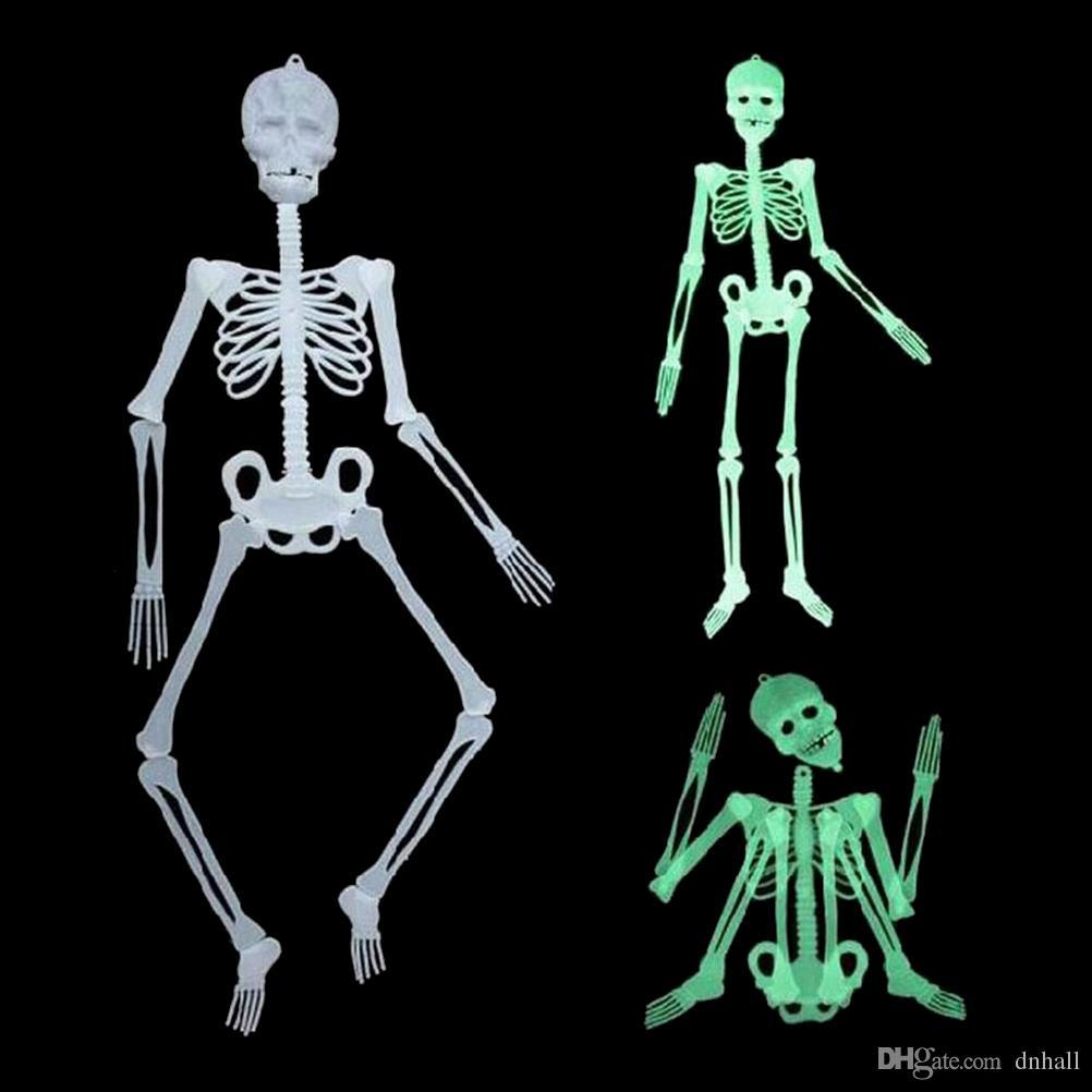 horror luminous movable skull skeleton halloween props glow evil party favors halloween eve scary halloween decoration skull halloween scary halloween