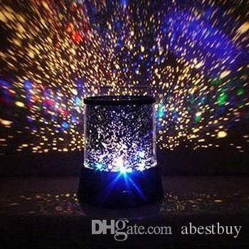 Amazing Colorful Star Master Projector Flashing Night Light conduit des lampes d