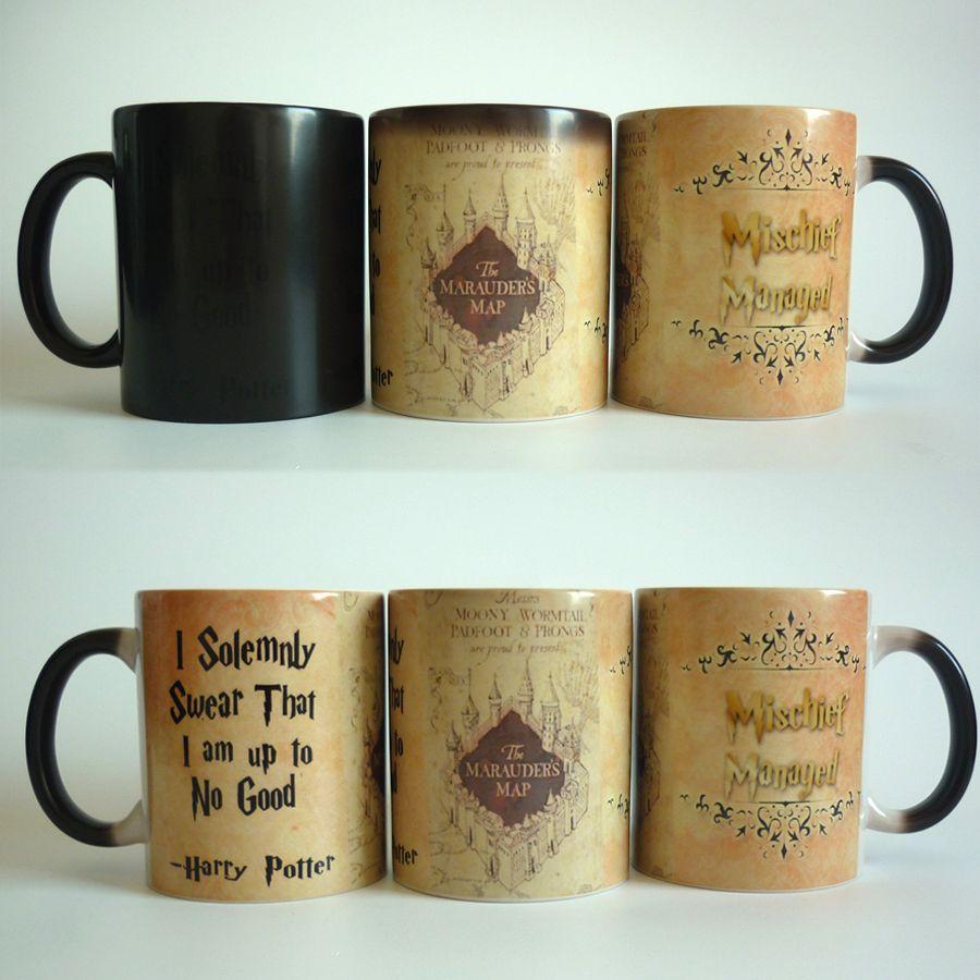 Heat Reactive Mugs