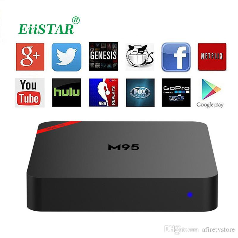 MINI M95 Media Player PK Android MXQ PRO TV Box Quad Core 8G Smart TV Box KD16.1
