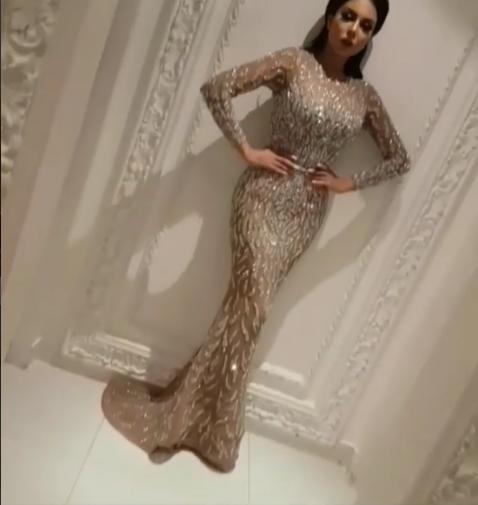 Evening Dress Yousef Aljasmi Labourjoisie Mermaid Sheath