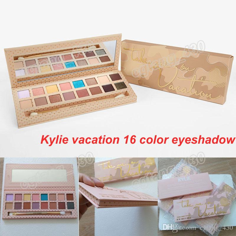 Best Quality Kylie Jenner Vacation Palette Eyeshadow With