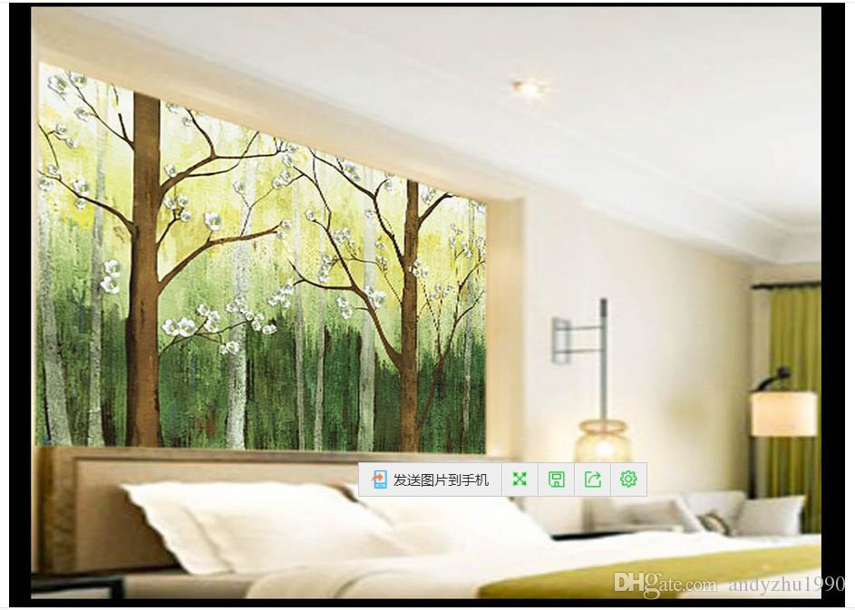 3D Photo Wallpaper Custom Size 3d Wall Murals Oil Painting Pastures Picture  Home Decoration Mural Wall 3D Mural Wallpaper 3d Wallpaper Mural Wall  Online ...