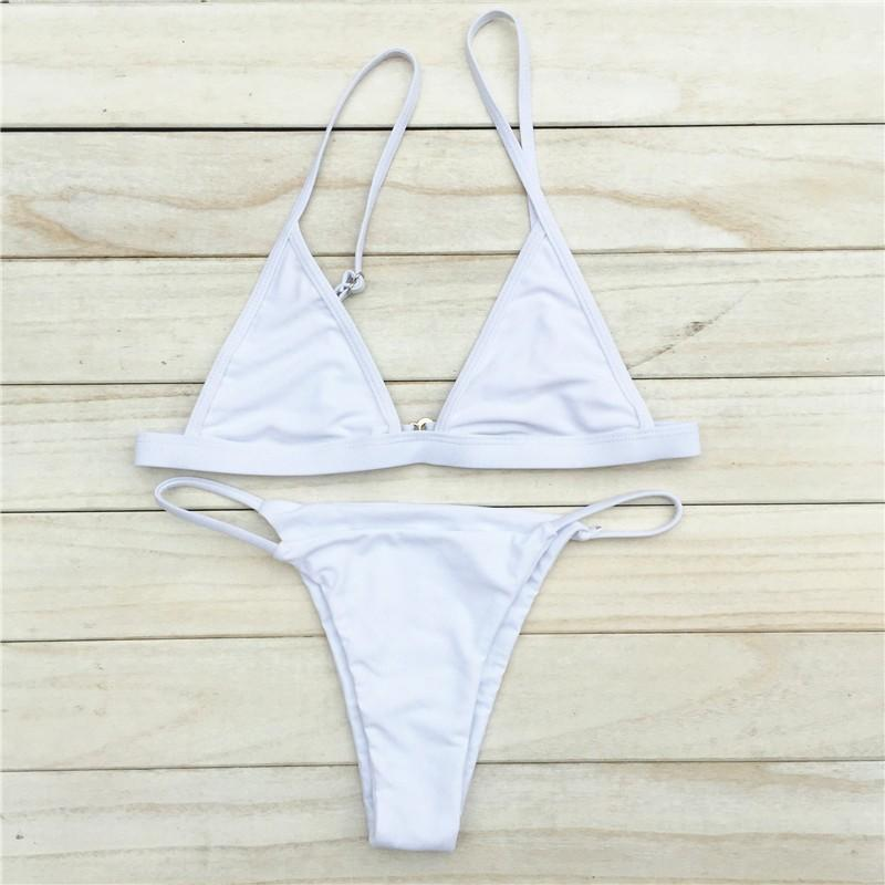 La mode la plus simple en Europe et le bikini brésilien sexy en maillot de bain