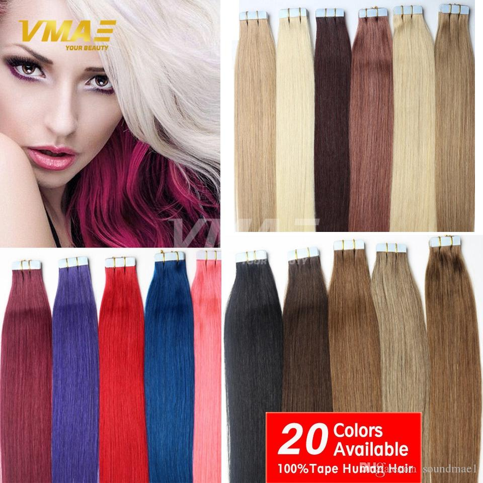 Thick tape in human hair extensions 100gpackage human tape hair thick tape in human hair extensions 100gpackage human tape hair extensions skin weft 12 30 top quality type hair pieces color tape in extensions cosplay pmusecretfo Gallery
