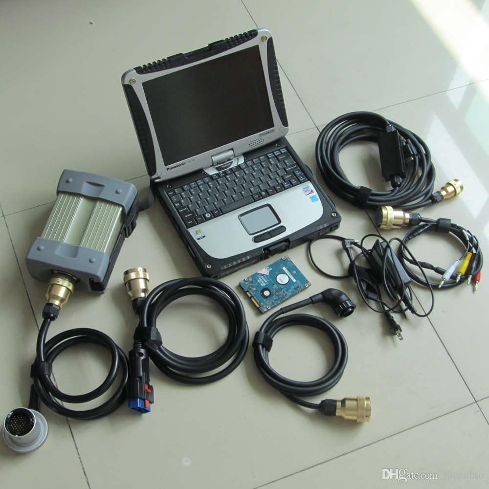 Professional mb star diagnostic tool mb star c3 with for Mercedes benz computer diagnostic tool