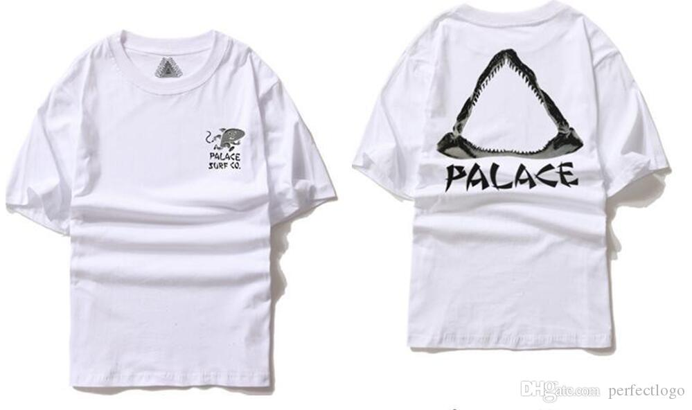 Hommes Brand Palace T shirt Hommes 1: 1 High Quality Palace Skateboards T-Shirts