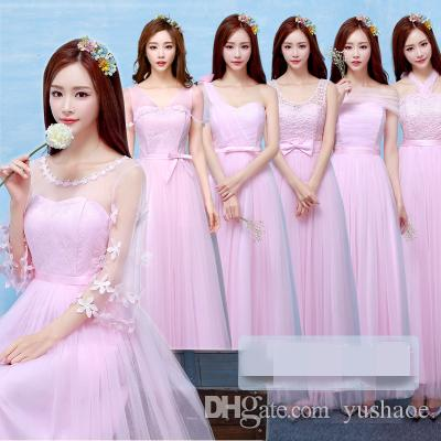 In Stock Bridesmaid Long Dresses High-end Evening Dress Wedding ...