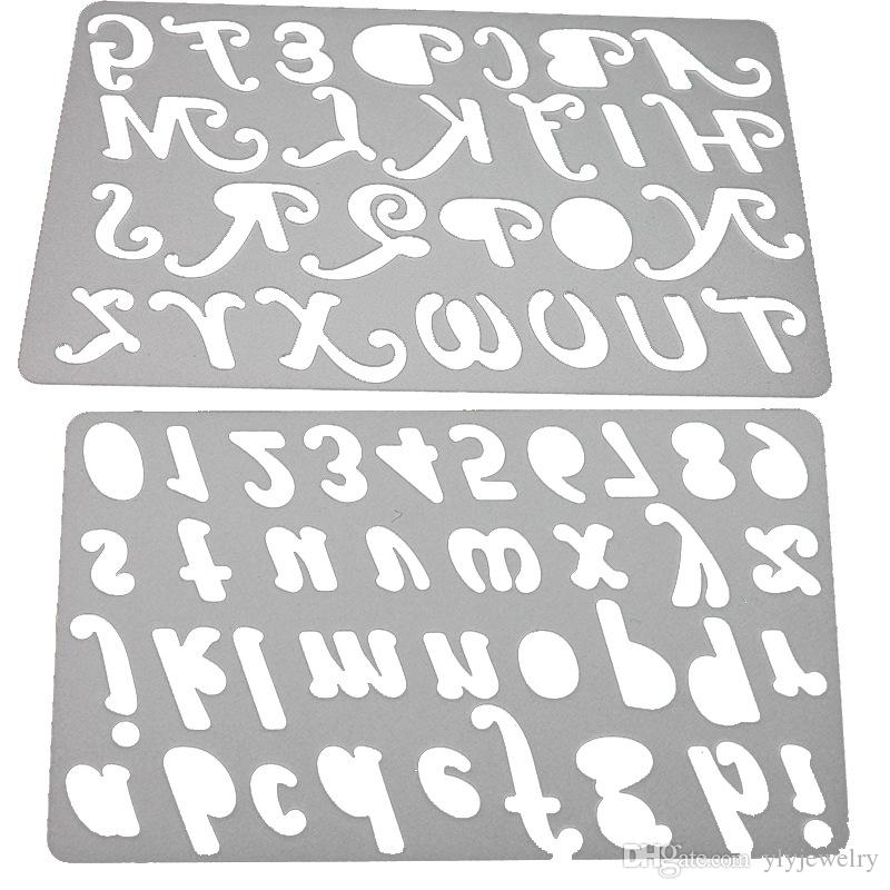 capital letter alphabet metal cutting dies stencils for diy scrapbooking decorative craft photo album embossing diy