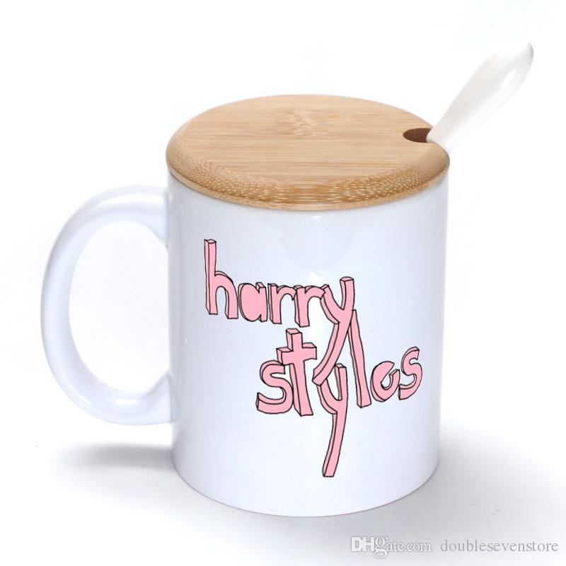 Harry Styles Mug Coffee Milk Ceramic Cup Creative Diy