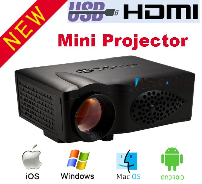 Wholesale ct37 wifi wireless home theater 1800lumens for Best projector for apple products