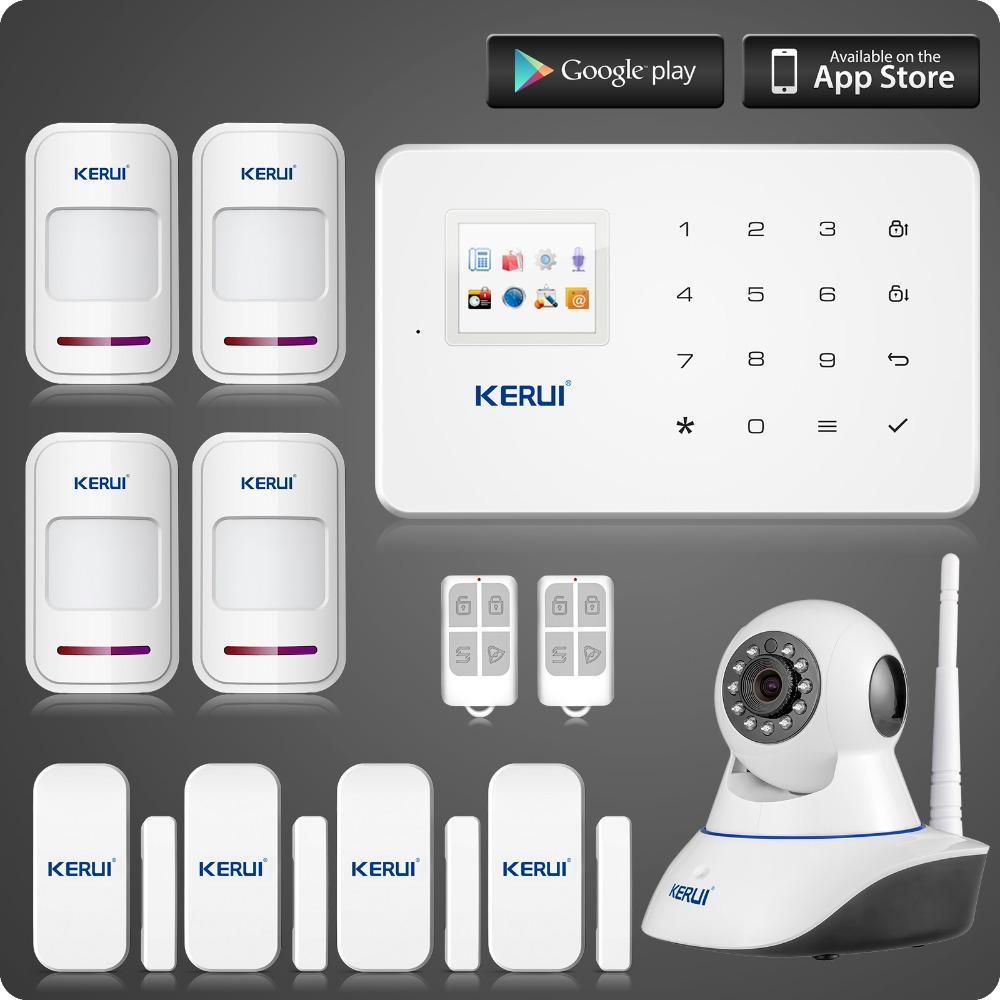 Ls111 Wireless Wifi Ip Camera Kerui G18 Gsm Home Alarm