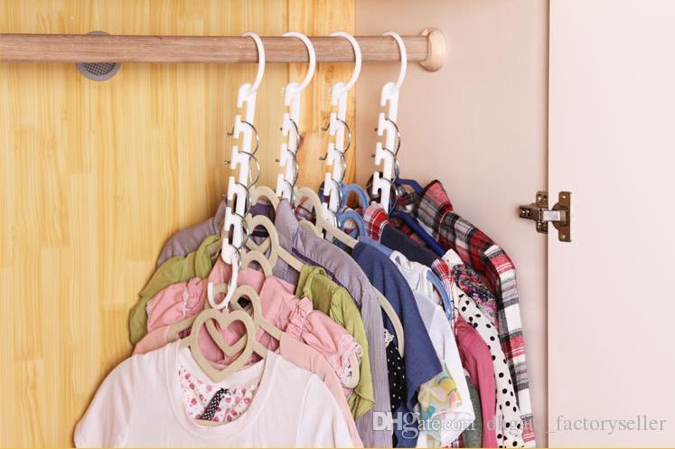 /Space Saver Wonder Hanger Clothes Closet Organizer Hook Drying Rack  Multi Function Clothing Storage Racks Space Saver Hanger Magic Hanger  Wonder Hanger ...
