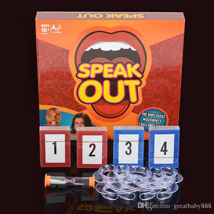Speak Out Game w/ Logo
