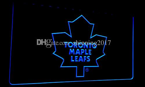 LS086-b Toronto Maple Leafs Neon Light Sign Decor Decor Livraison gratuite Drops