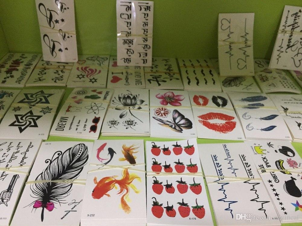 Fashion cmyk small size temporary tattoo sticker for daily for Tattoo prices by size