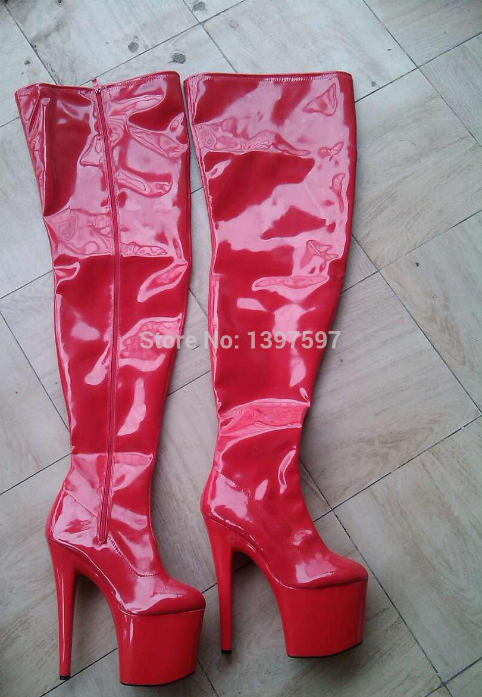 Wholesale 58 To 85cm Shaft Length Extreem High Heel 20cm 8 Inch