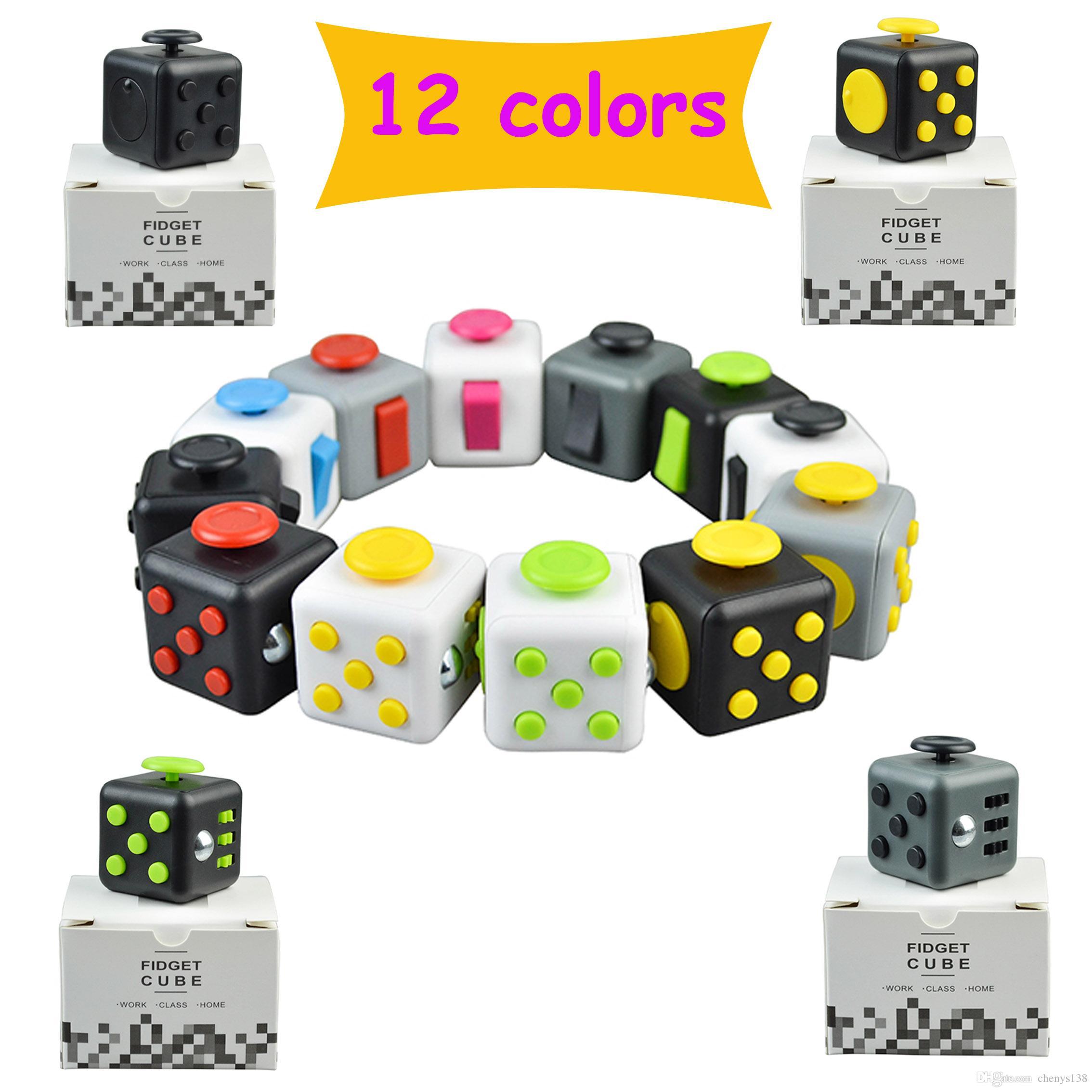 Best Toys Adu : Popular fidget cube stress relief toys novelty