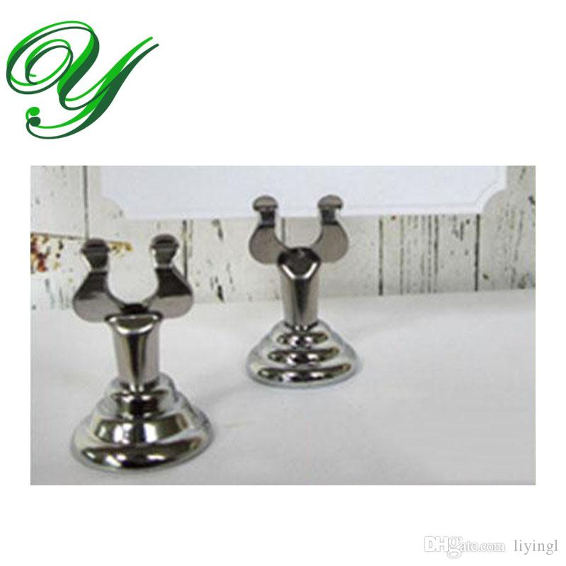 wedding place card holders table number holder gold silver table card stand table decoration stainless 4cm business card standing holders displays display