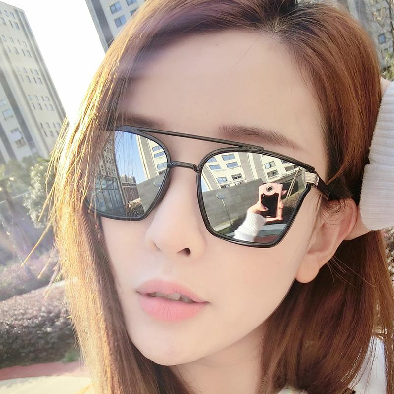 Admirable 2017 New Sunglasses Sunglasses Men Round Face South Korea Women Hairstyle Inspiration Daily Dogsangcom