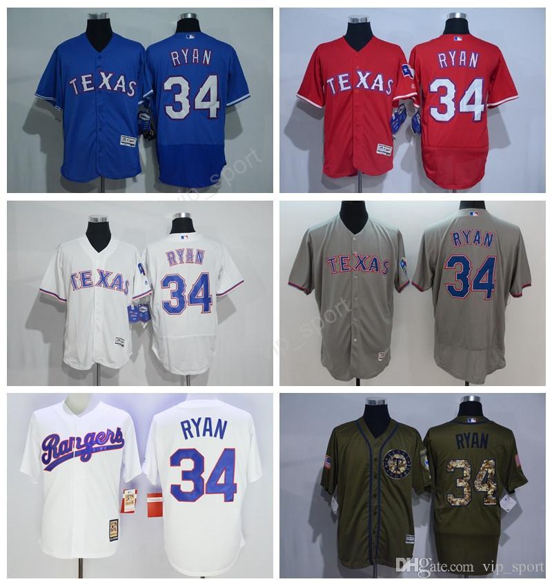 mlb flexbase collection men 34 nolan ryan texas rangers jerseys flexbase baseball nolan ryan jersey