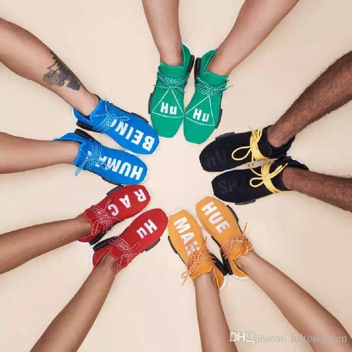 2017 New Human Race Pharrell Williams X NMD Sports Running tenis femme Cheap top