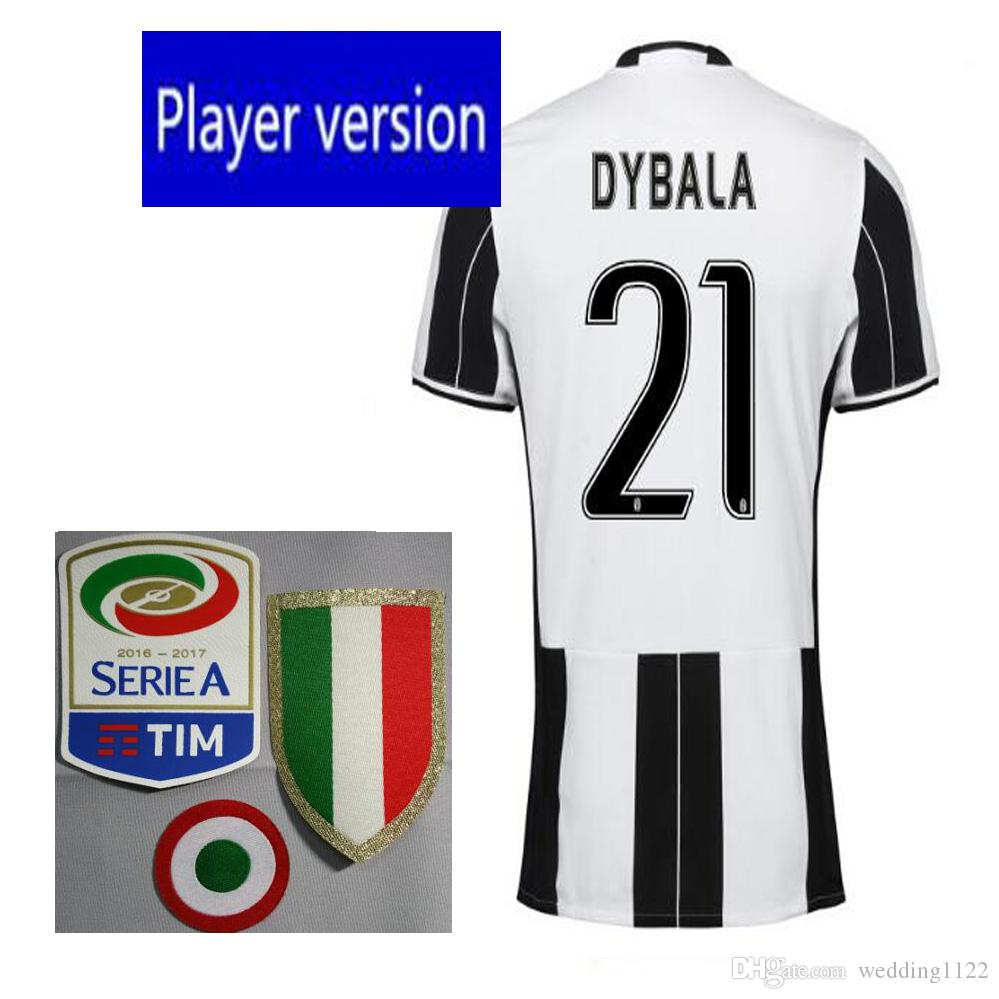 Top Player Version 2016 la meilleure qualité Juve Jerseys exécuter HIGUAIN March