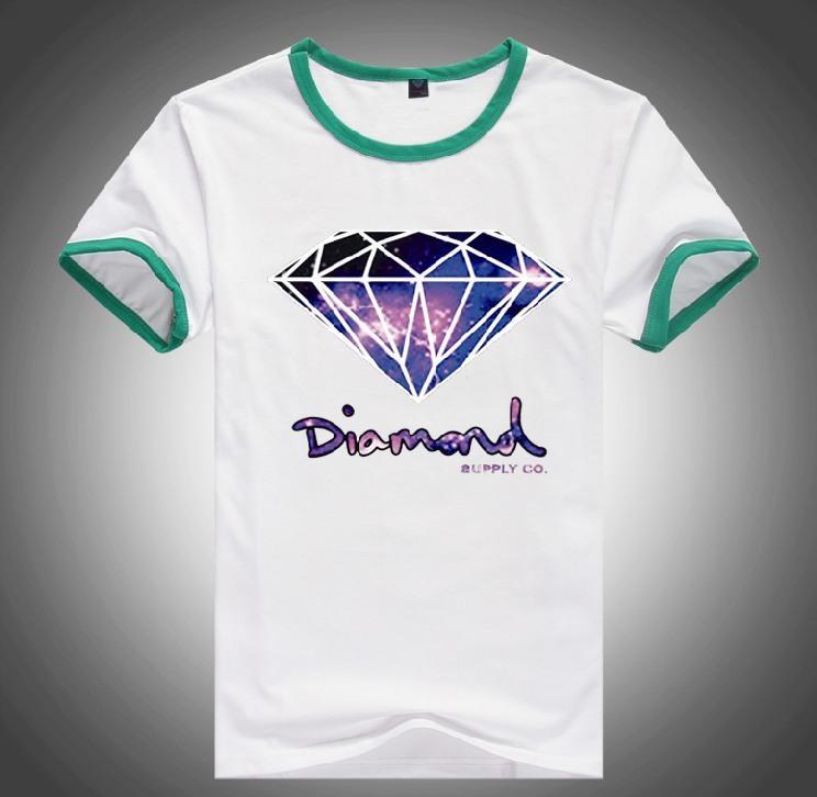 2017 pk8432560140k brand cheap 20 styles dgk diamond for Diamond and silk t shirts