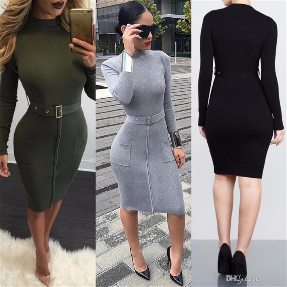 2017 New Spring Summer Women Casual Winter Long Sleeves