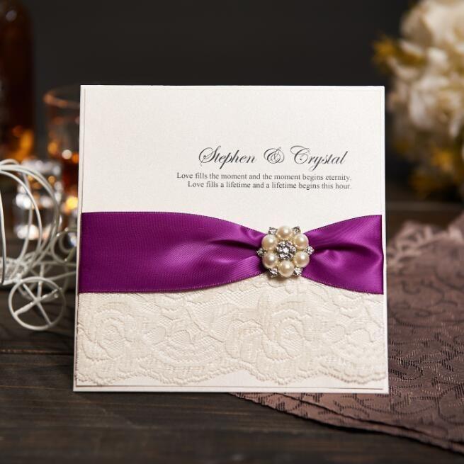 Wholesale Personalized Wedding Invitations Evening Invites