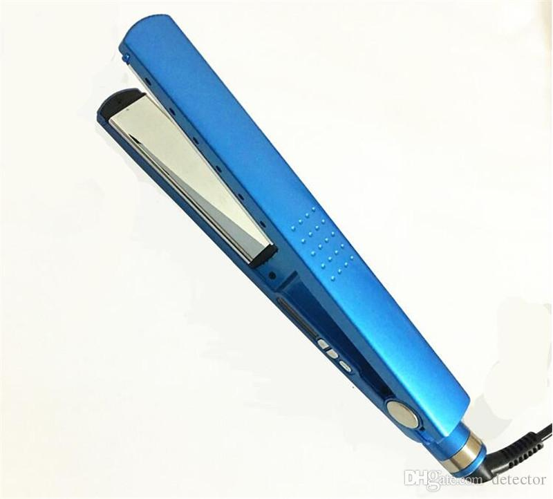 New Pro Na No Titanium 1 1 4 Plate Flat Iron Ionic Hair