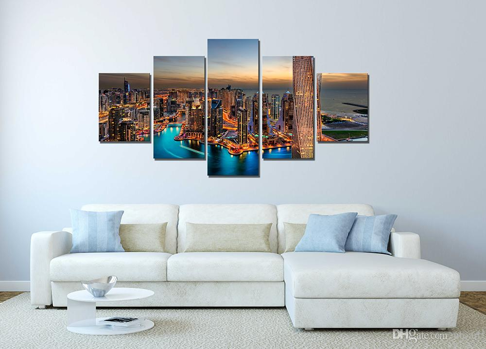 2018 wall decor canvas painting canvas art dubai uae for Home decoration pieces