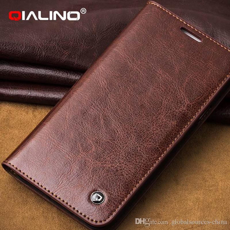 B306 New Arrival Classic Leather Wallet Case Flip Cover pour Samsung Galaxy E7 a