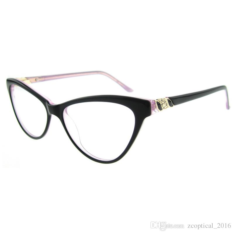 2016 new optical eyeglasses thin frames design youth