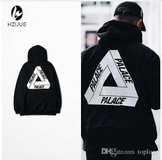 P yonth man Mens Palace Skateboards Hoodie yongth Triangle sweat Palace Sweatshi