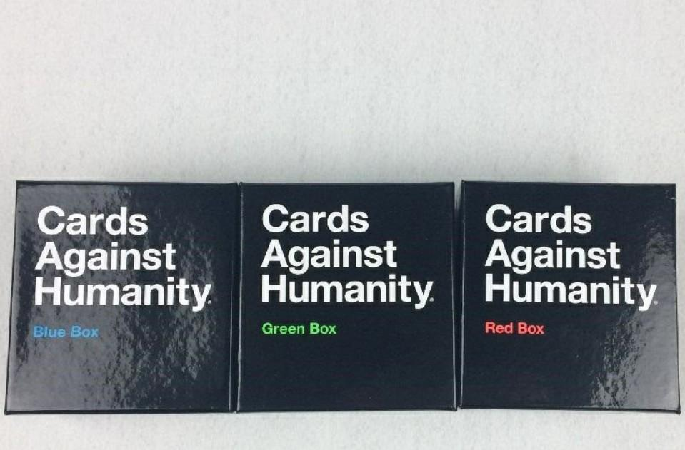 It's just a picture of Trust Cards Against Humanity Blue Box Card List