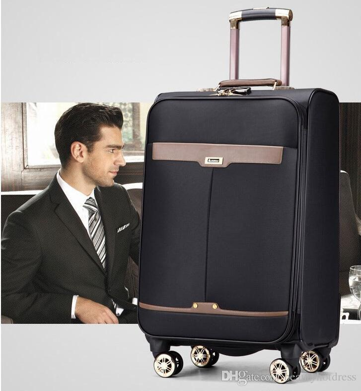 Large Quantity in Stock PU Business Travel Suitcase Trolley Travel ...