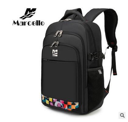 MARCELLO Women's Swiss Style Travel Mochilas Laptop Bag Backpack ...