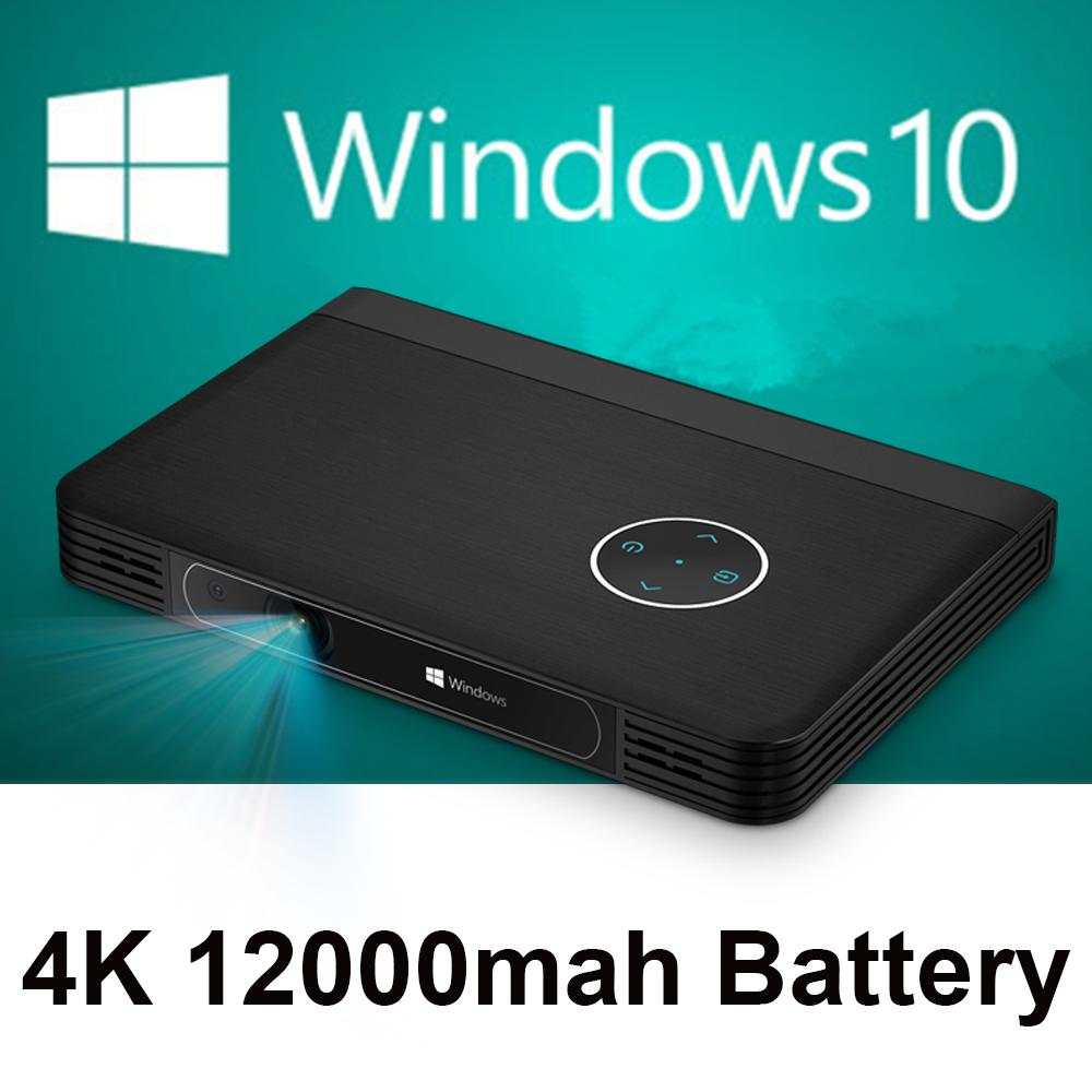 Wholesale mini projector 1080p full hd windows 10 system for Best portable bluetooth projector