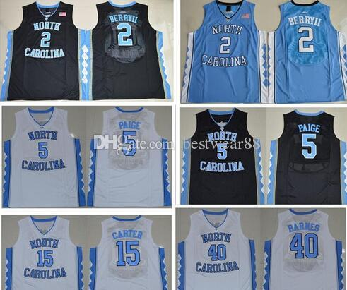 6b30901ff01190 ... amazon 2017 north carolina tar heels college basketball jerseys 15  vince carter men michael 11 brice